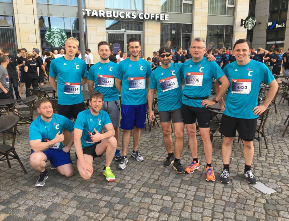 Cool runnings – REWE Teamlauf in Dresden