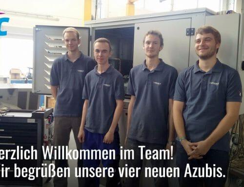 Herzlich Willkommen im Team!