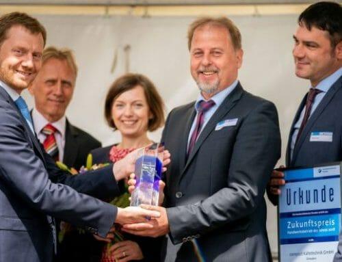 compact erhält Zukunftspreis 2018