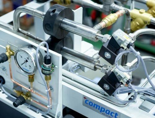 Eingebauter *c-Ejector zur Effizienzsteigerung in Boosteranlage