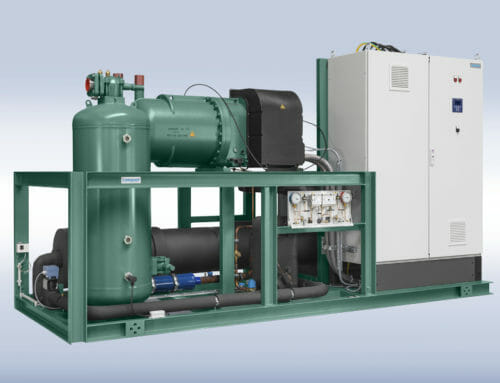 400 kW chiller for air-conditioning