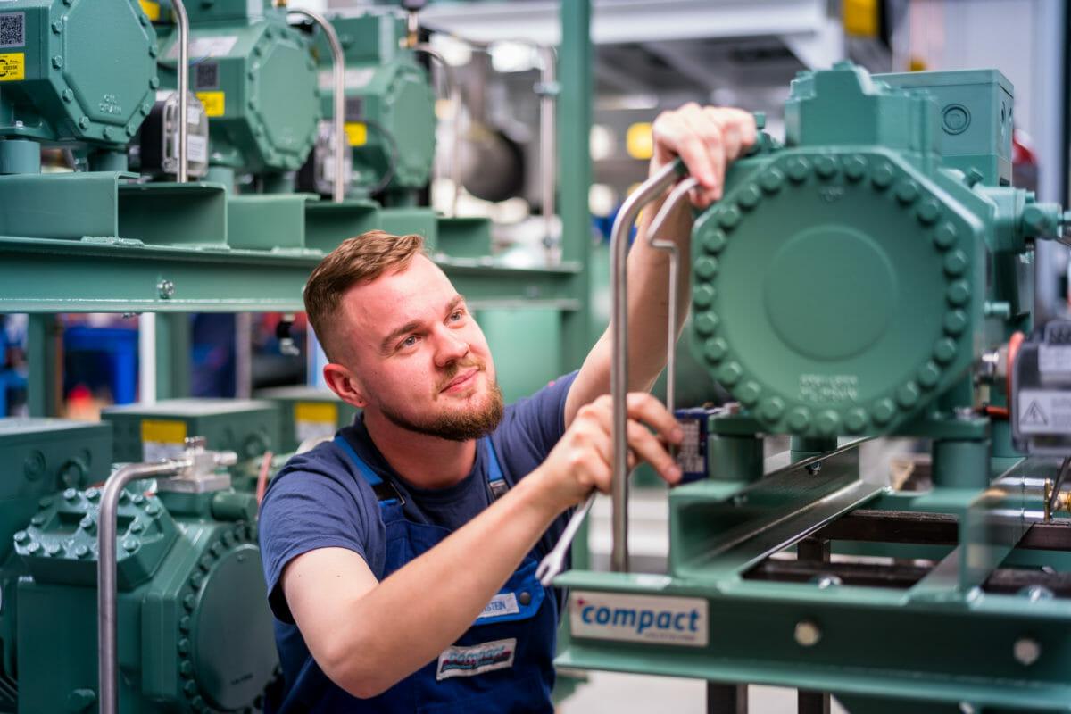 Qualitätssicherung bei compact Kältetechnik Dresden