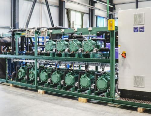 CO2 Booster für SB-Warenhaus