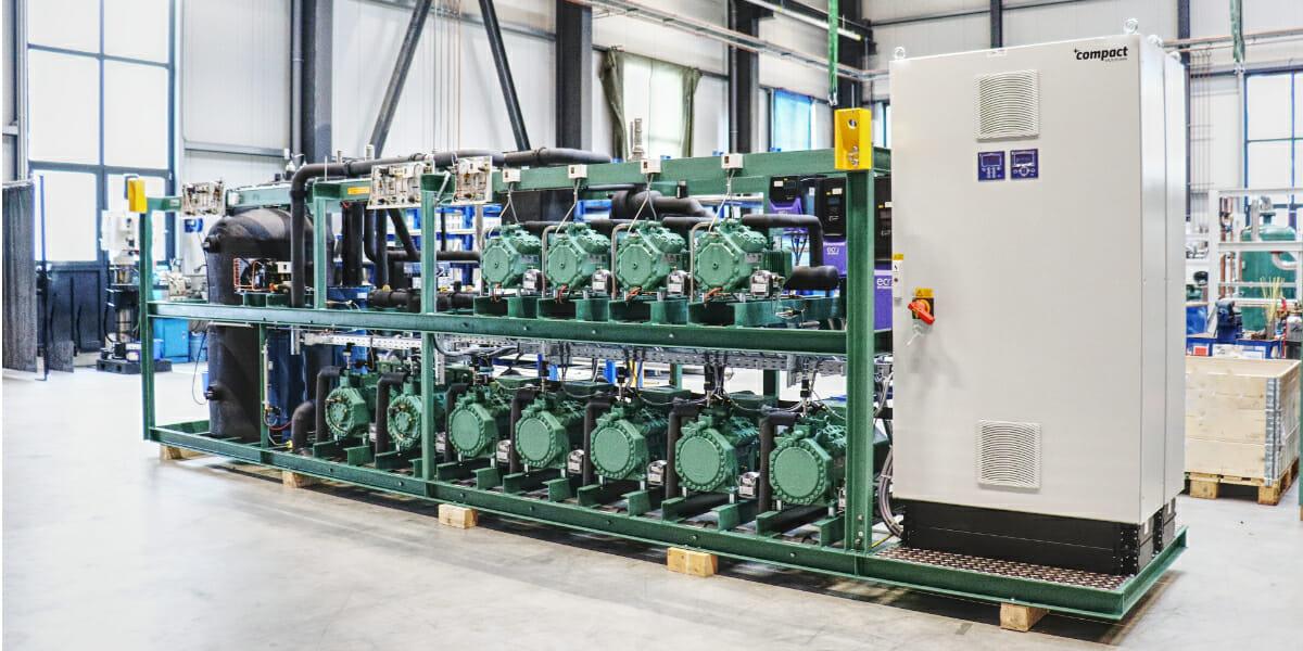CO2 Booster für SB Warenhaus