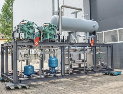 Neue Ammoniak-Anlage für die Herbsthäuser Brauerei
