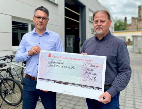 Spende an die Deutsche Krebshilfe